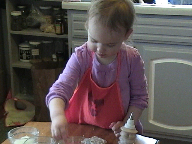 Decorating Cookies for Easter