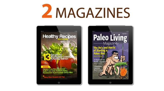 2 magazines 2
