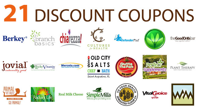 21 discount coupons
