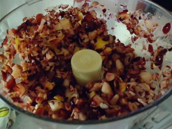 cran relish in food processor