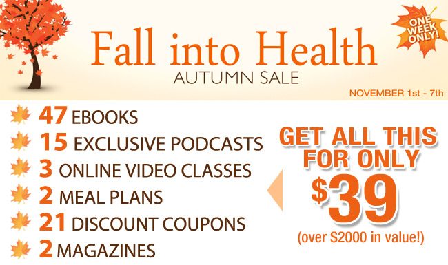 Fall Into Health Autumn Sale