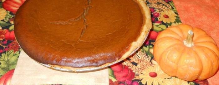 Pumpkin pie steiny jo's